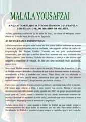 PDF Document biografia de malala pdf