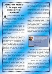 PDF Document liberdade e malala texto principal pdf