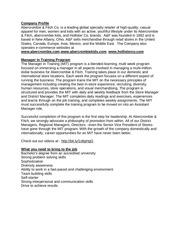 PDF Document company profile