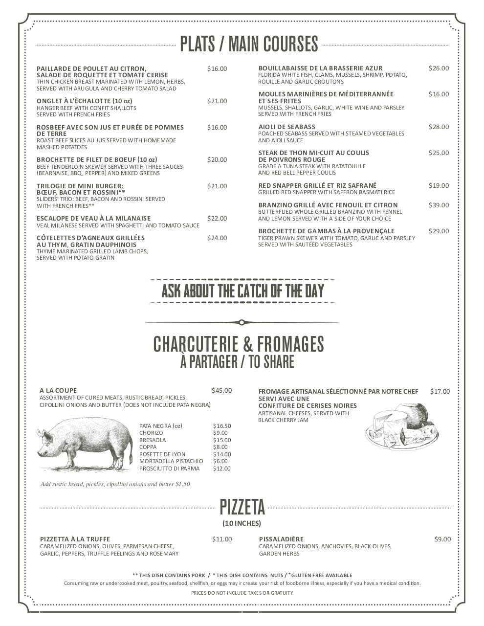 Preview of PDF document brasserie-azur-menu-8-web-version.pdf