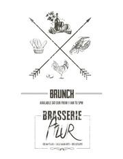 brasserie azur menu brunch web