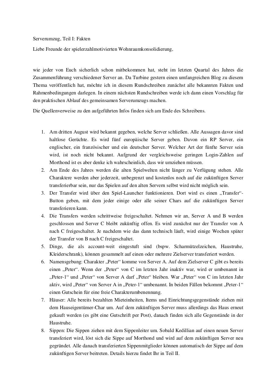 Document preview Lotro - Serverumzug - Teil I.pdf - page 1/2