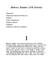 PDF Document mortal kombat d10 system