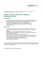 PDF Document internship master thesis supplier management