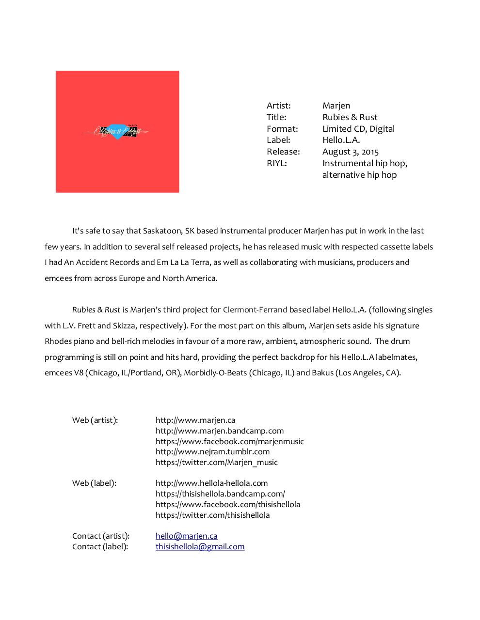 Document preview Hello.L.A. press release.pdf - page 1/1