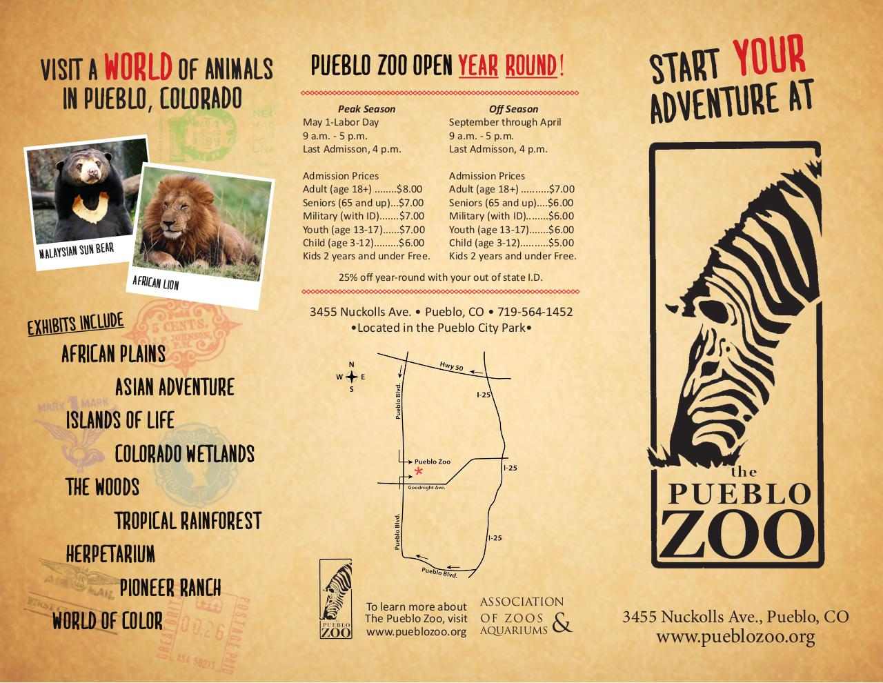 Document preview zoobrochure.pdf - page 1/2