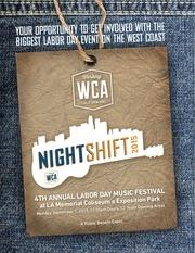 labor day music festival sponsorship deck
