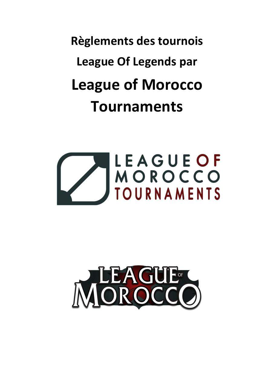 Règlement complet League of Morocco.pdf - page 1/7