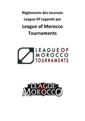reglement complet league of morocco