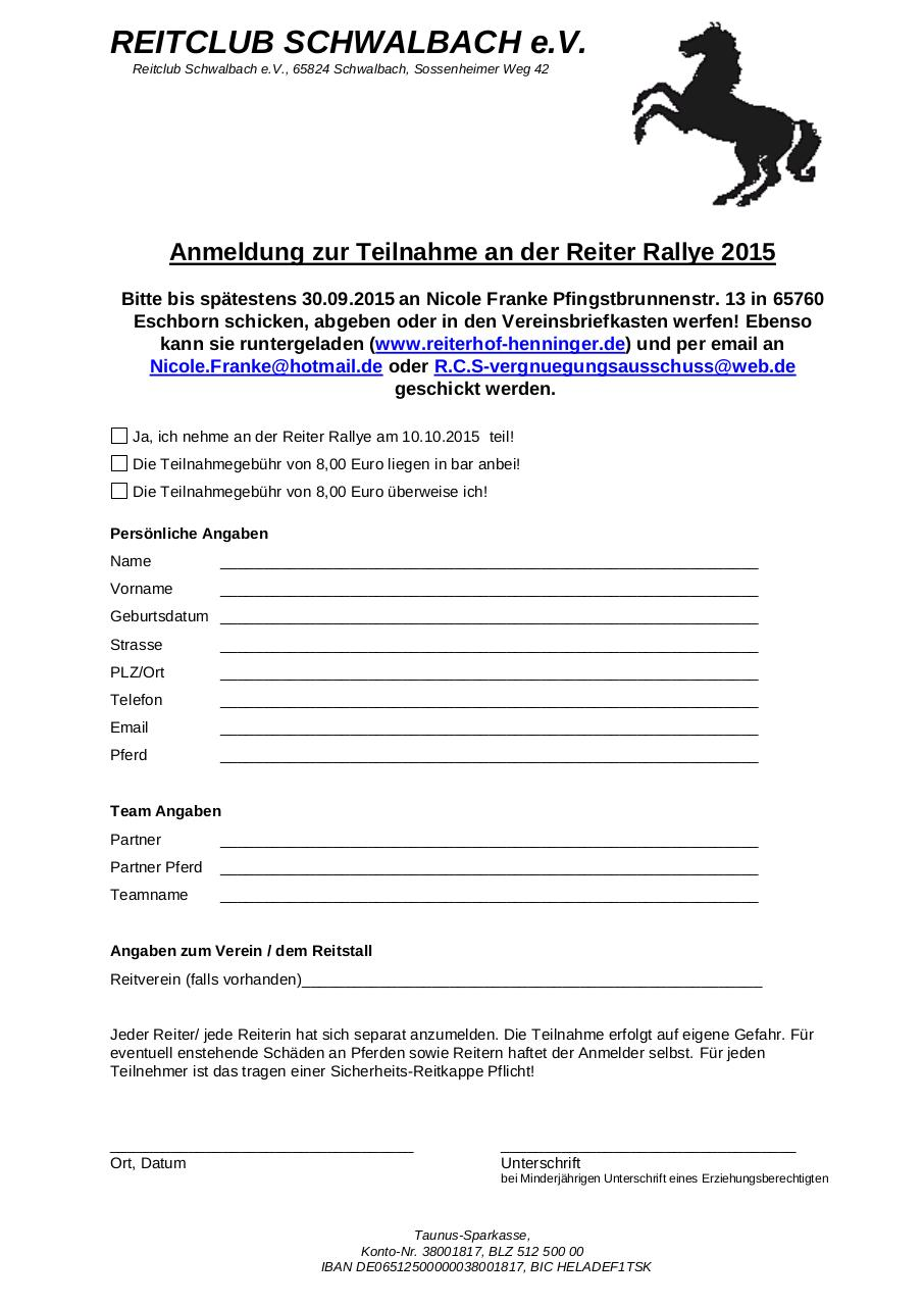 Document preview Anmeldung Reiter Rallye 2015 .pdf - page 1/1