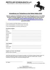 anmeldung reiter rallye 2015