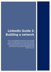 developing a valuable linkedin network
