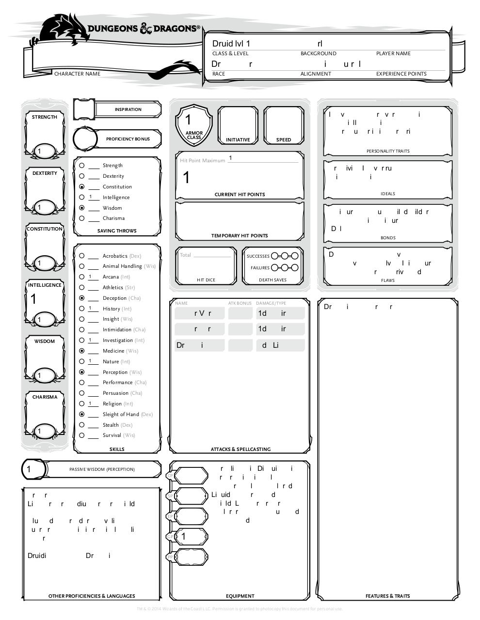Document preview DnD_5E_CharacterSheet - Shamash.pdf - page 1/3