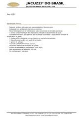 especificacoes tecnicas spa j185