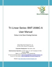 bmt 2098c a line scan camera user manual