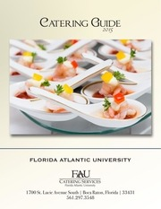 fau catering services 2015 2016 guide
