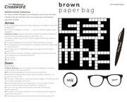 bangalore crossword 21 08 15