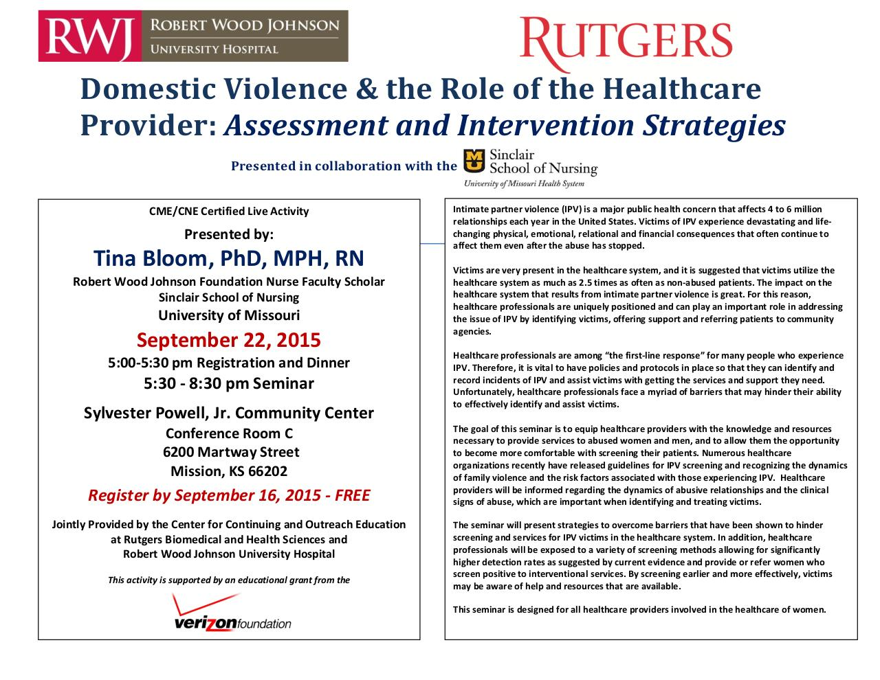 Continuing ed program for domestic violence.pdf - page 1/3