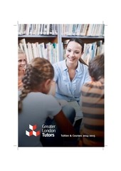 greater london tutors brochure