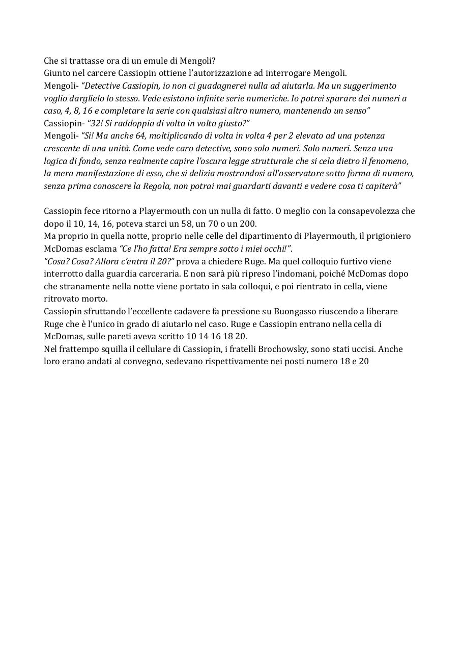 Document preview IB CAPITOLO IV L'infinita serie della morte.pdf - page 2/2