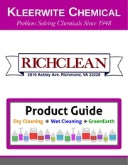kleerwite product guide richclean logo 1