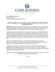 kapenga committee assignment