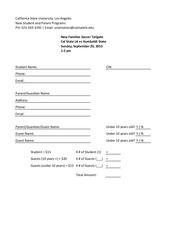 soccer tailgate reservation form