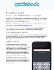 2013 abc app faq