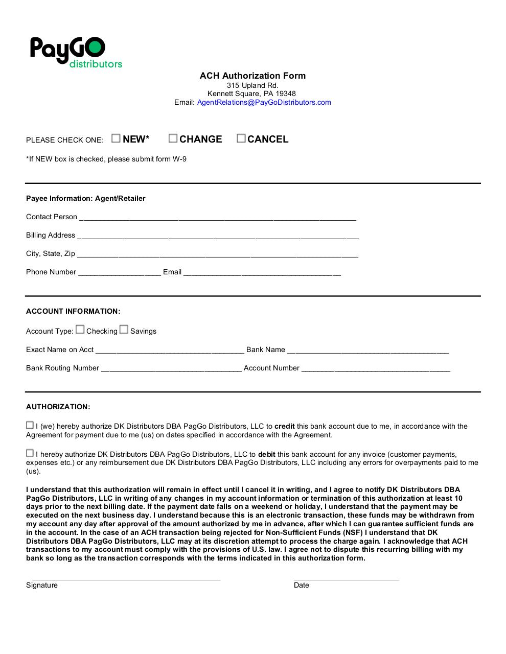 payment authorization form template event planning format 11 ...
