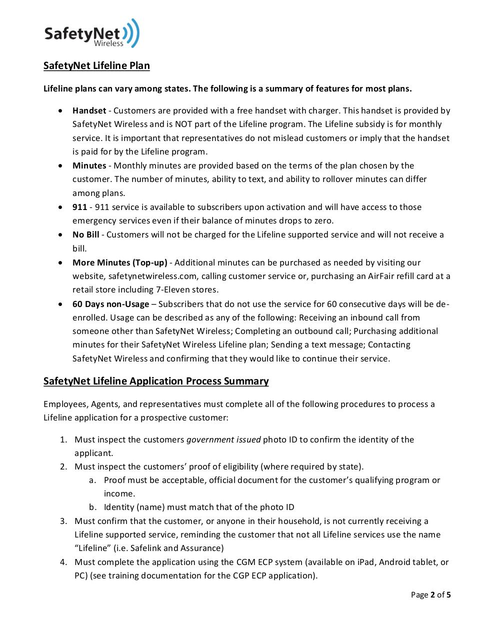 Document preview LifelineTraining.pdf - page 2/5