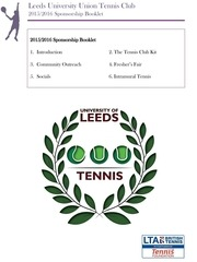 luutennis sponsorship booklet
