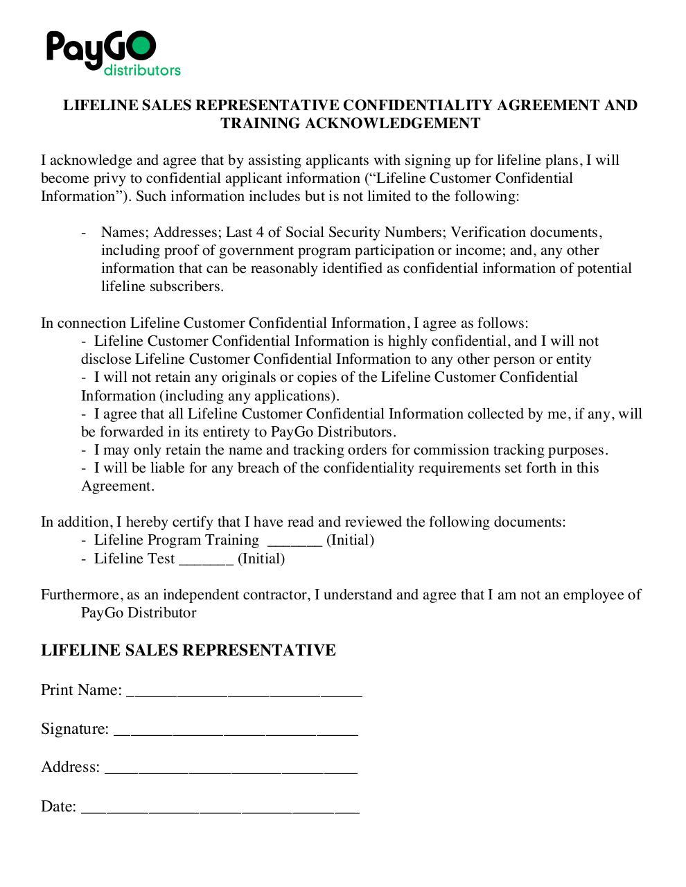 Kumpulan Sales Representative Agreement Template Microsoft Word ...