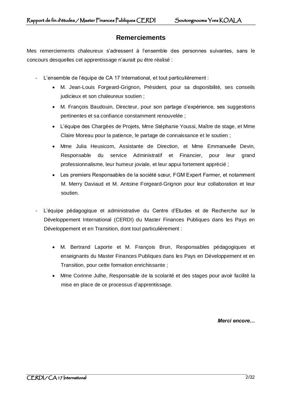 Methodologie Et Plan De Travail By Stagiaire Rapport De