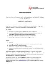 PDF Document stellenausschreibung hilfskraft stabstudium lehre 2015