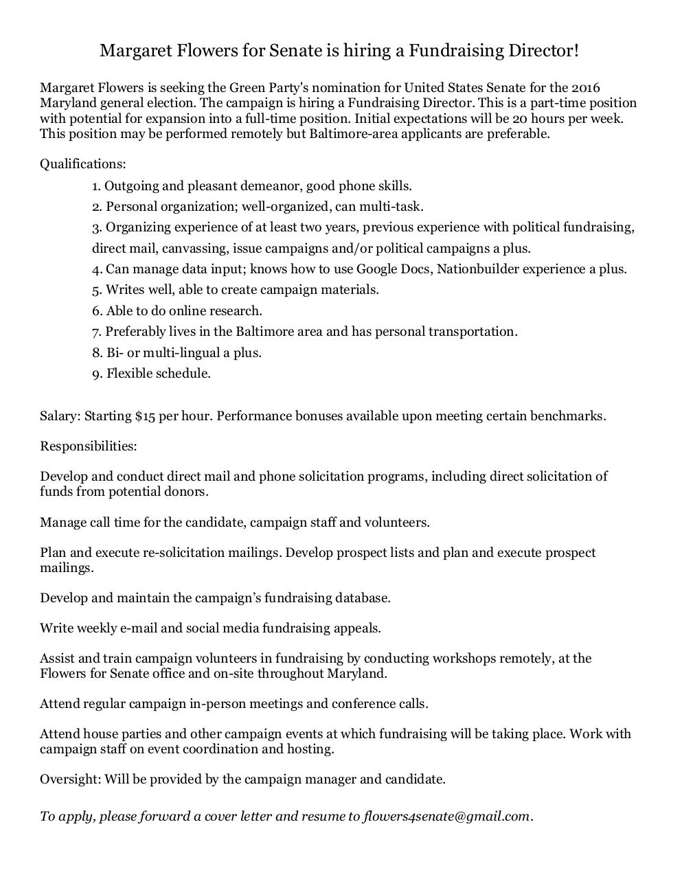 political campaign manager resume inspirenow fundraising director pdf pdf archiveoversight will be provided by the campaign manager and candidate to apply