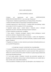 PDF Document regulaminkonkursu