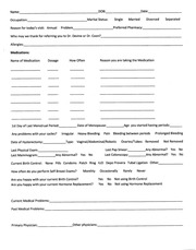PDF Document page 1 new patient intake form