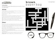 bangalore crossword