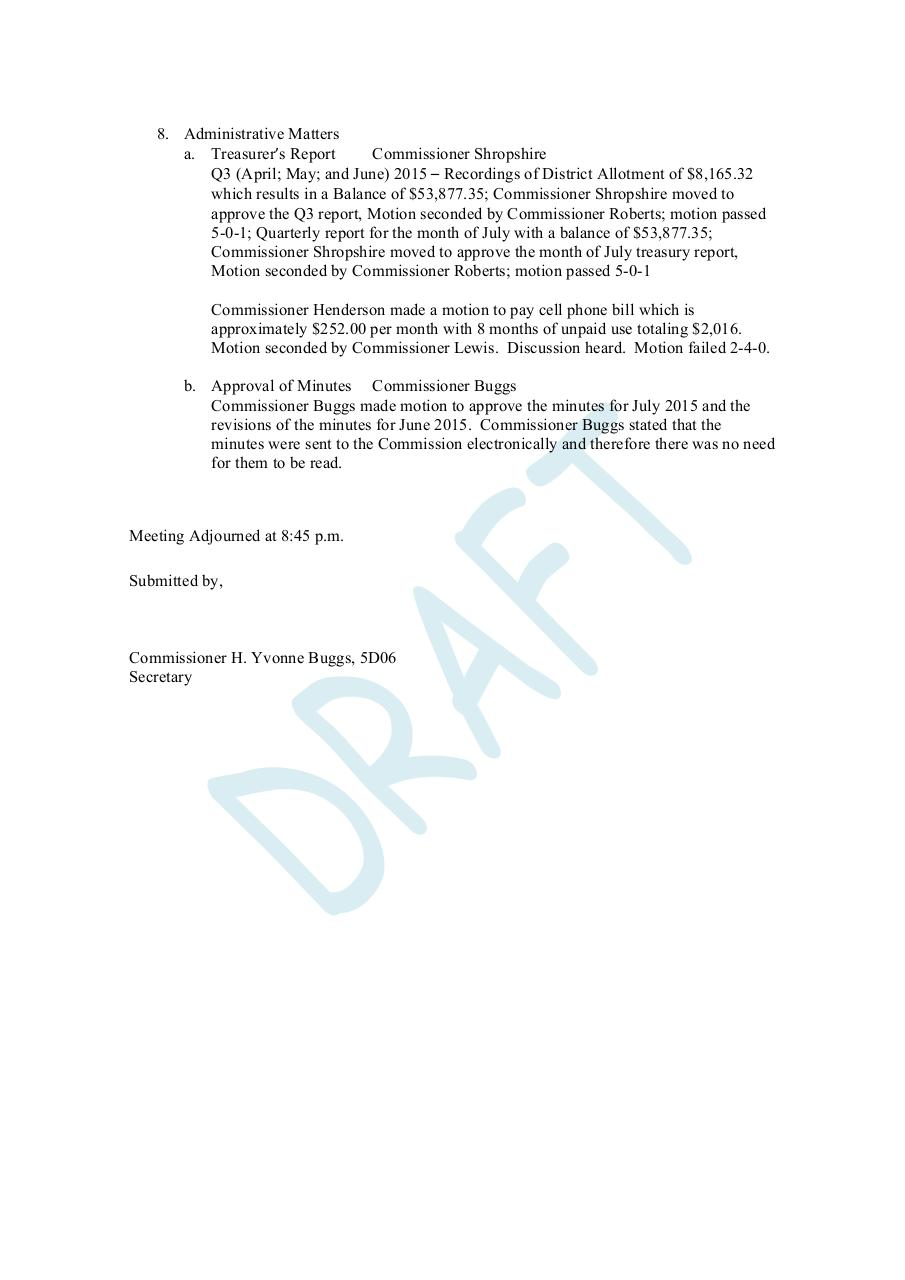August 11 Meeting Minutes- Draft (1).pdf - page 2/2