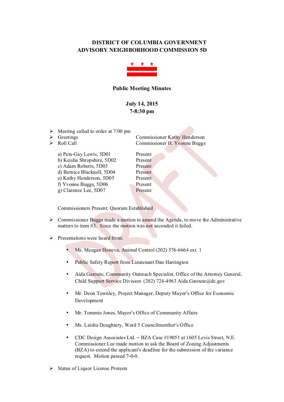 July 14 Meeting Minutes- Draft (1).pdf - page 1/2