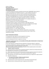 PDF Document regulamin normaderm