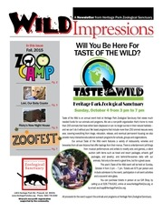 wild impressions fall 2015