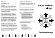 infoflyer buergerwerkstatt asyl