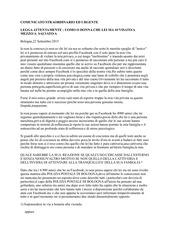 PDF Document messaggio