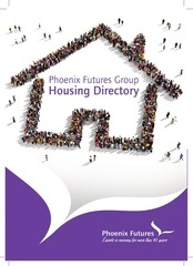 a5 housing directory leaflet artwork