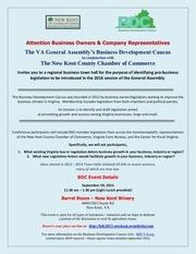 bdc 2015 new kent town hall invite