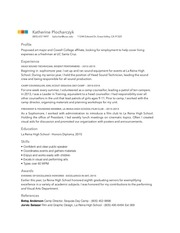 PDF Document misc resume pdf
