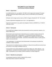 reglement concours isilines busbud 1