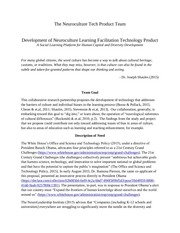 the neuroculture tech product team goal