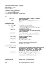 PDF Document cv federica simonelli